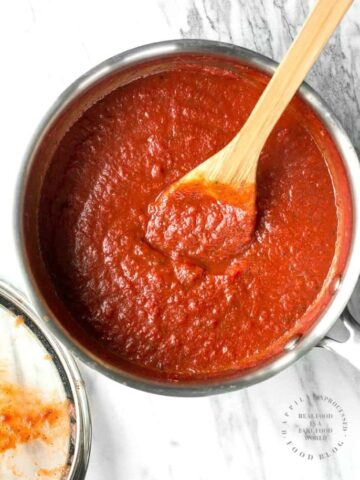Simple Spaghetti Sauce Homemade 360x480 - Simple Homemade Spaghetti Sauce