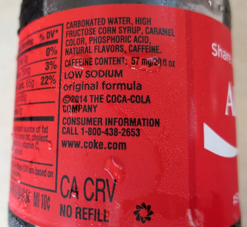 coke 1024x939 - HIGH FRUCTOSE CORN SYRUP
