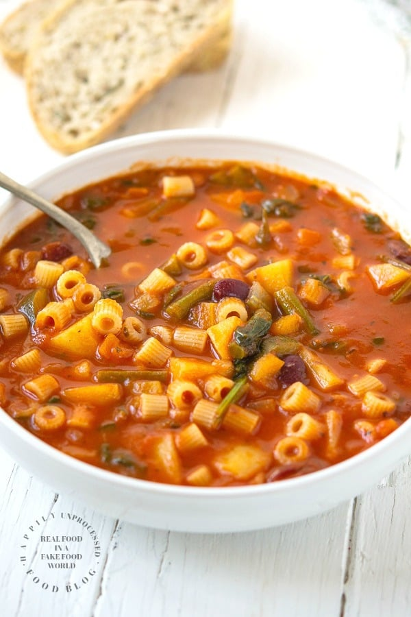 minestrone - Minestrone Soup