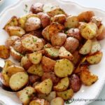 parmesan cheese potatoes 150x150 - Skillet Roasted Rosemary Red Potatoes