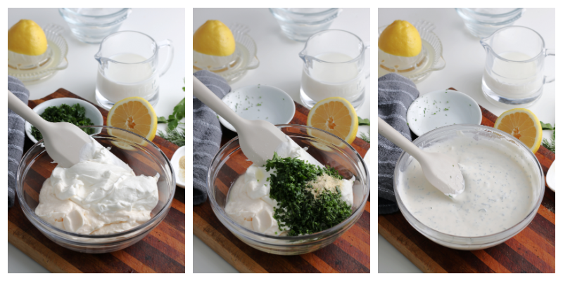 How to make homemade Ranch Dressing from scratch no preservatives - Homemade Ranch Dressing