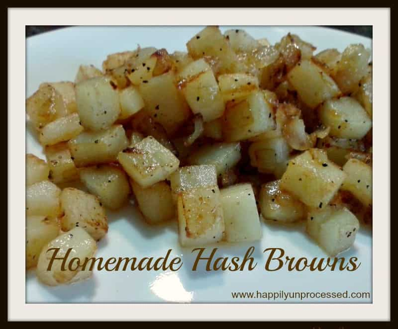 how to make cubed hash browns