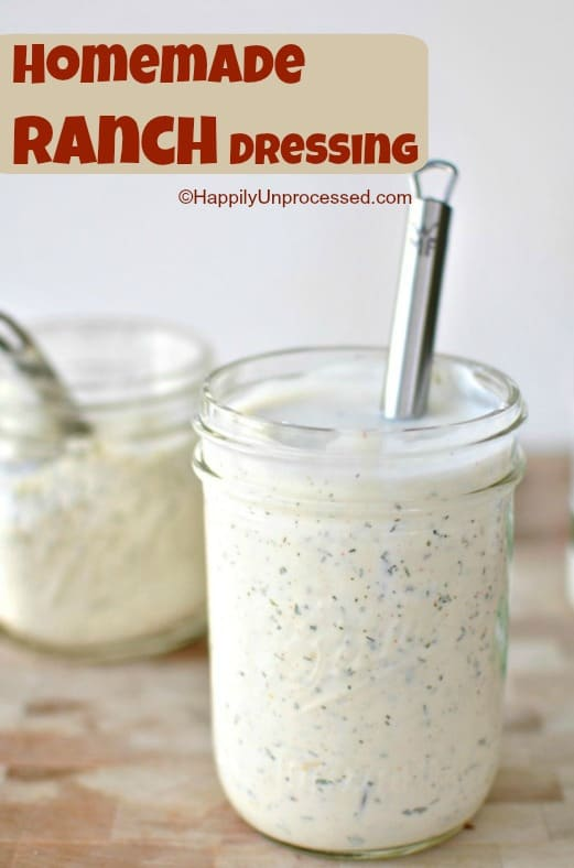 ranchdressing - Homemade Ranch Dressing