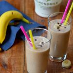 Chocolate, Peanut Butter & Banana Smoothie