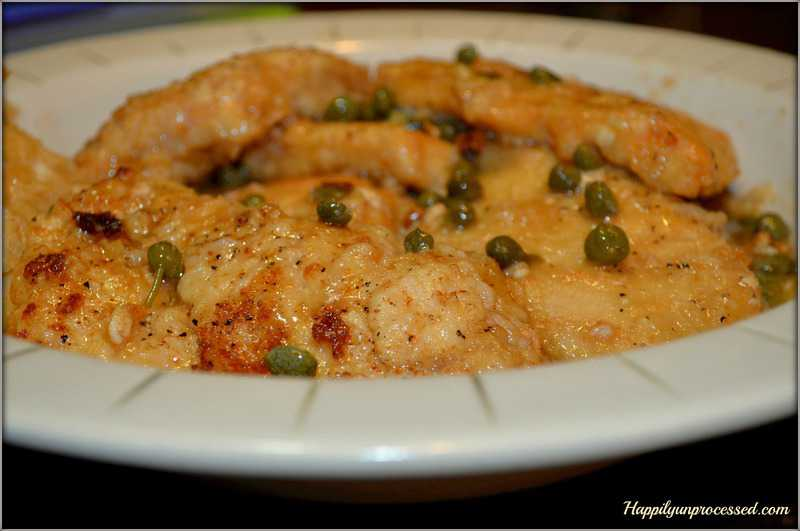 Chicken Piccata - Happily Unprocessed