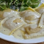 Butter & Garlic Cream Sauce
