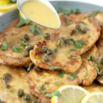 chicken piccata 150x150 - Roasted Chicken in a Wine and Butter Sauce