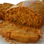 Carrot Cake Quickbread with Almonds