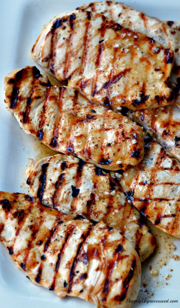 easy best grilled chicken marinade