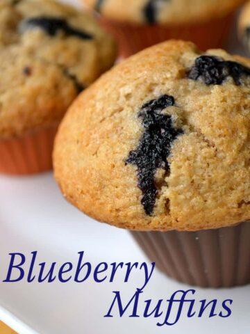 007edited1 360x480 - Blueberry Muffins