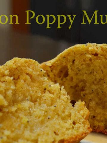 013edited 360x480 - Lemon Poppy Muffins