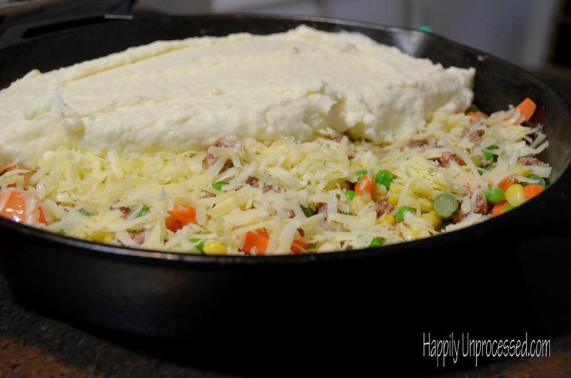 Shepherd's Pie with Ground Beef - Happily Unprocessed