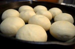 buttery baked rolls