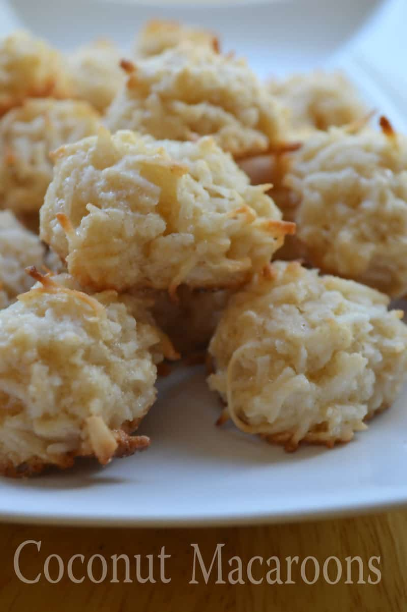 Coconut Macaroons - Happily Unprocessed