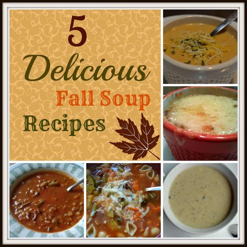 5 Delicious Fall Soup Recipes