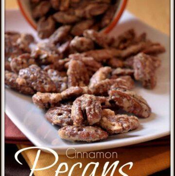 pecans2 360x361 - Candied Pecans