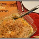 Chicken and Rice Casserole (with NO creamed soups!)