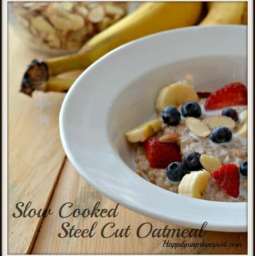 steel cut oatmeal 360x361 - Super Steel Cut Oatmeal