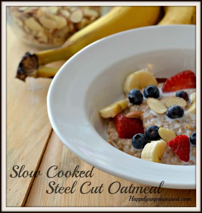 steel cut oatmeal 974x1024 - Super Steel Cut Oatmeal