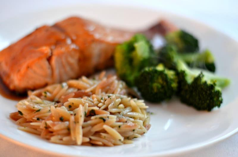 Bobby Flay's Salmon with Brown Sugar and Mustard Glaze - Happily ...