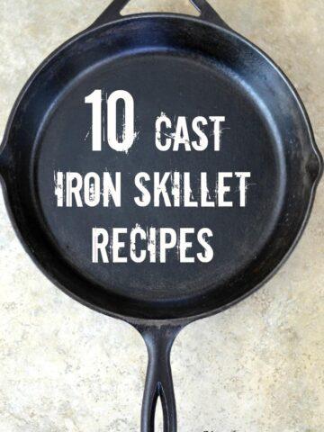 018pic2 360x480 - 10 Cast Iron Skillet Recipes