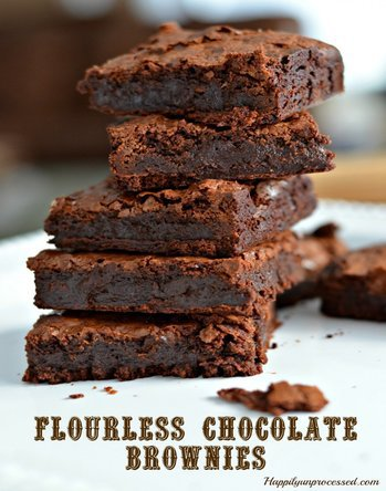 Awesome Flourless Brownies (means Gluten Free!)