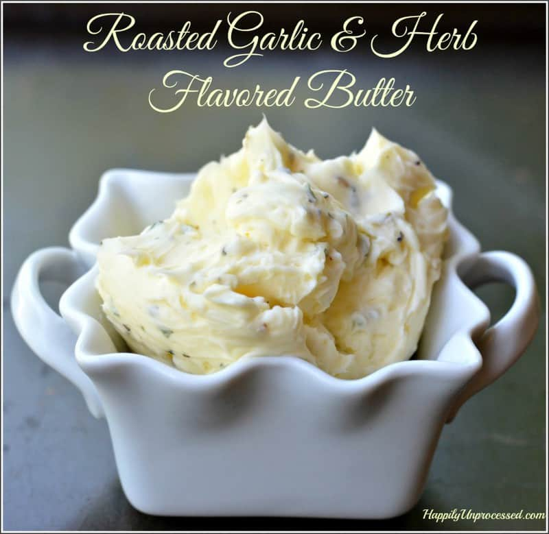 roasted-garlic-herb-butter