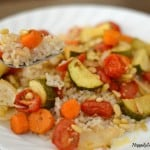 Ratatouille over Brown Rice