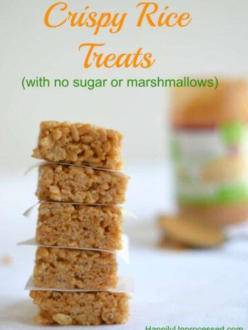 042pic1 360x480 - Crispy Rice Treats (Sugar Free, Gluten Free, Marshmallow Free)