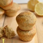 Lemon Yogurt Poppy Seed Muffins