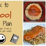 Back to School Menu Plan (in under 30 minutes)