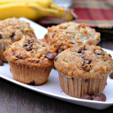 067pic7 360x361 - Banana Walnut Chocolate Chip Muffins
