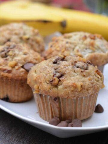070pic 360x480 - Banana Walnut Chocolate Chip Muffins
