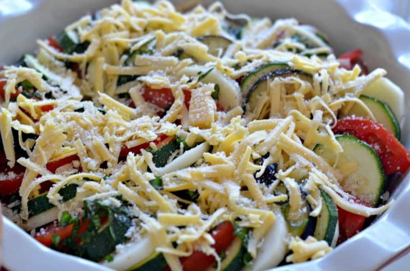 tomato zucchini gratin