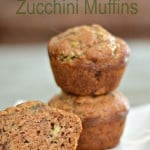 The BEST Banana Zucchini Muffins