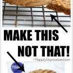 Make THIS!  Not THAT!:  Peanut Butter Cookies