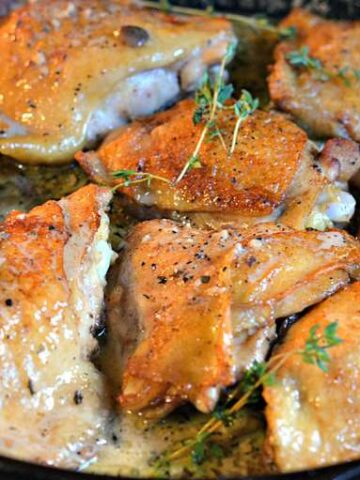 005pspic 360x480 - Roasted Chicken in a Wine and Butter Sauce