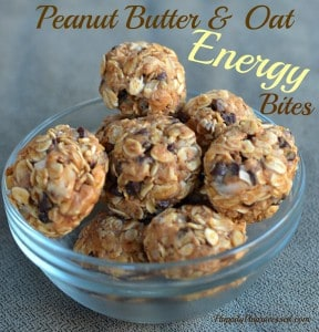Peanut Butter & Oat Energy Bites