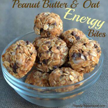 038pspic3 360x361 - Peanut Butter & Oat Energy Bites