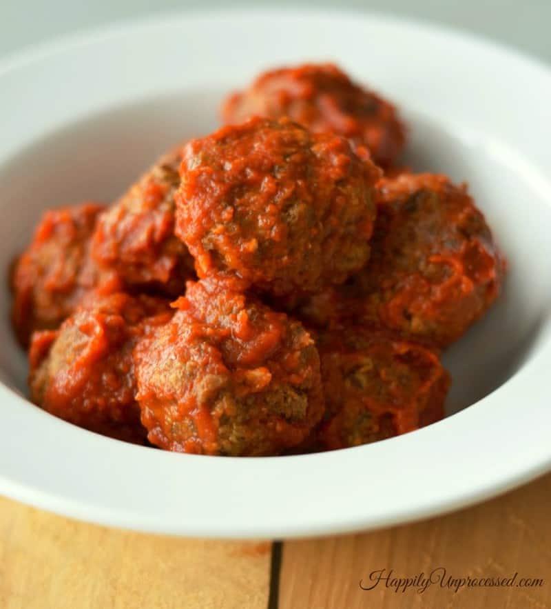 anne burrell's meatballs