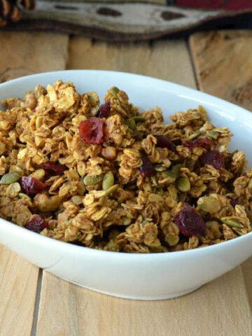 063ps 360x480 - Pumpkin & Flax Seed Granola