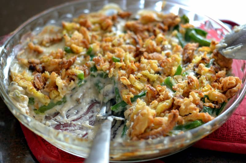 Homemade Green Bean Casserole - Happily Unprocessed