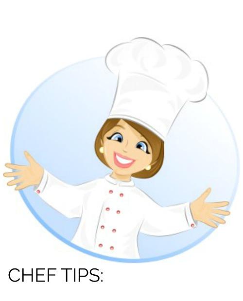 CHEF TIPS1.JPG - The Best Baked Meatball Recipe