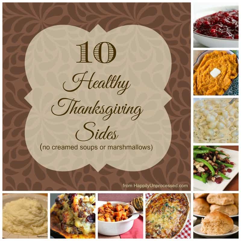10 healthy thanksgiving side dishes happily unprocessed 10 healthy thanksgiving side dishes forumfinder Images