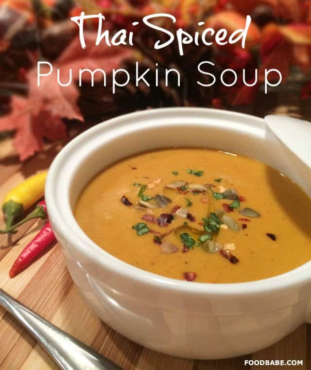 Thai Spiced Pumpkin Soup by Food Babe