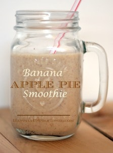 Banana Apple Pie Smoothie