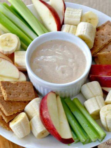 030pic 360x480 - Peanut Butter Yogurt Dip