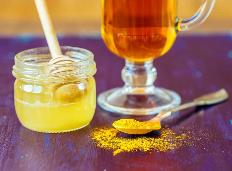 Turmeric, Ginger & Honey Tea - Happily Unprocessed