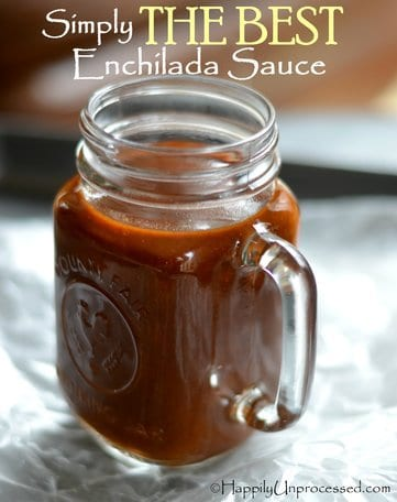 Simply THE BEST Red Enchilada Sauce EVER!