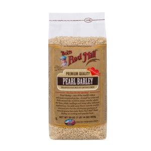 bobs red mill pearl barley 300x300 - Mushroom Barley Soup